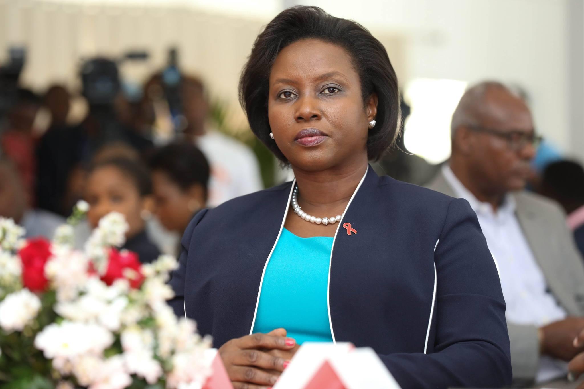 Martine Moïse, la veuve du président assassiné, entendue par le juge d'instruction
